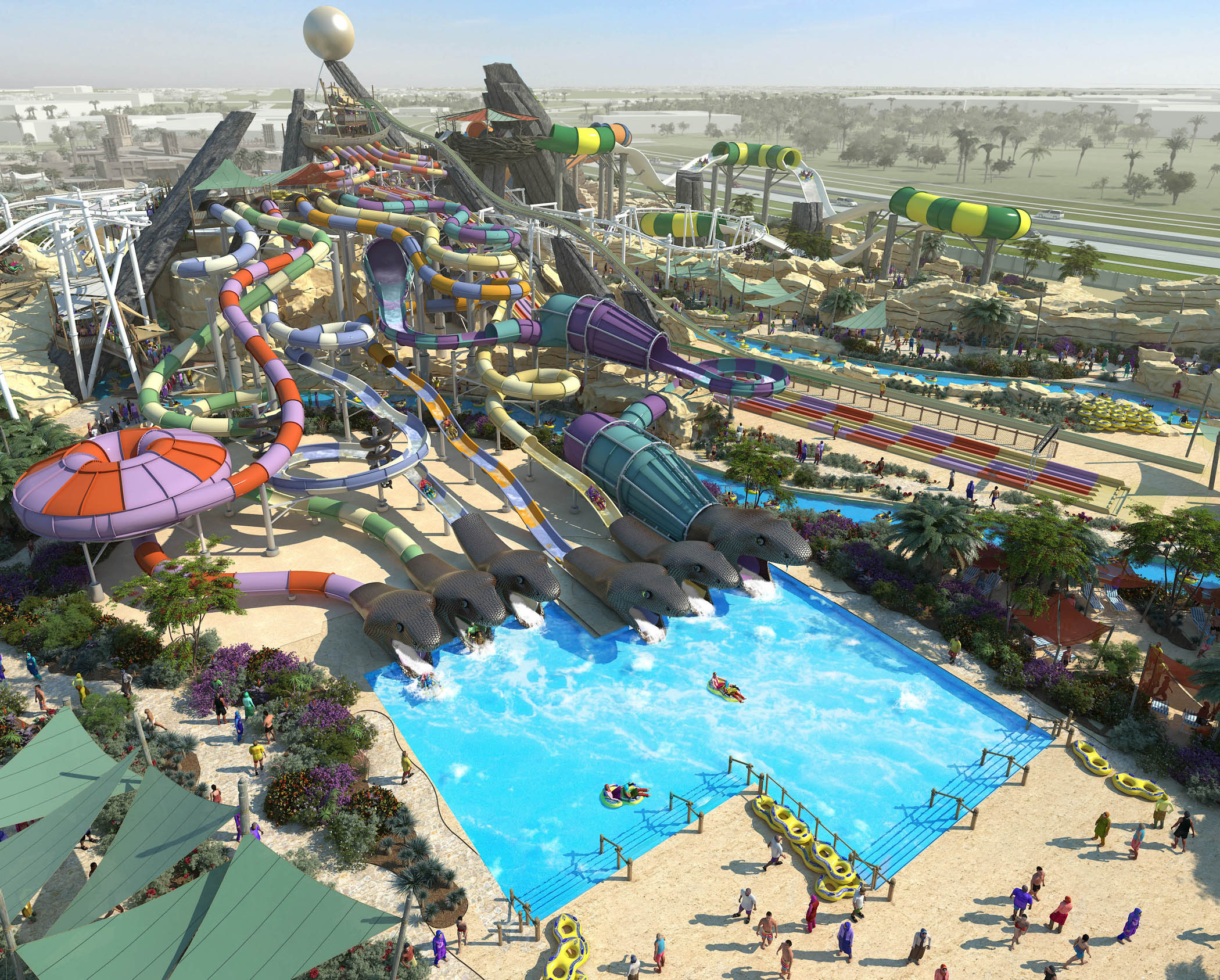 Abu Dhabi Yas Waterworld Mega Waterpark Inaugural On Jan 24 Latest Flights And Travel News