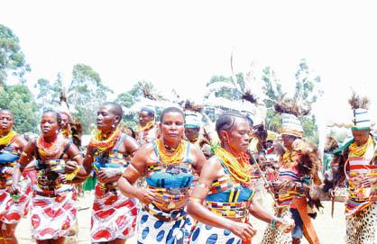 Nyakitari, a Tradional Dance Group, Performs At a Local Function