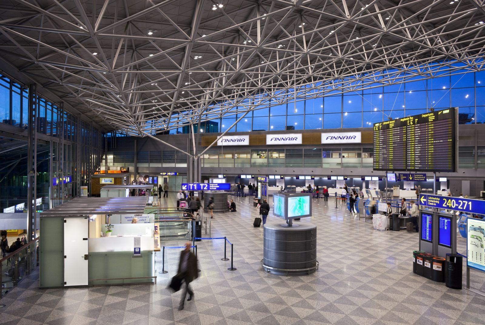 helsinki airport departures